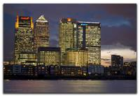 Canary Wharf Photomerge