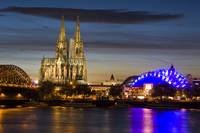 Cologne Skyline at Twilight