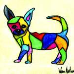 """""""Mondrian Chihuahua"""" by VanAntwerpArt"""