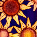 """Sunflowers"" by mykara"