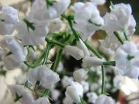 Small white flower decoration