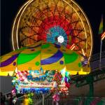 """Ferris Wheel and Fish Pond"" by philjern"