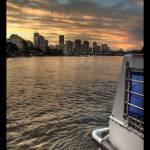 """""""Brisbane sunset"""" by majkl20"""