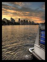 Brisbane sunset