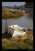Lonely Boat at Blakeney