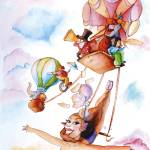 """flying circus"" by Gigistudio"