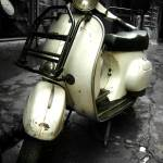 """White Vespa"" by becosky"