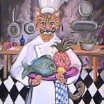 """Chef Tom Cat"" by theartlady"