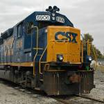 """CSX # 6906 ,ex C&O 4406 ; EMD GP40-2"" by RayThibautPhotography"