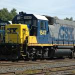 """CSX #1547 , ex-Conrail # 1641 ; GP15-1 ,9-3-07"" by RayThibautPhotography"