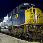 """CSX # 4598 SD MAC 80, ex-Conrail Quality # 4121"" by RayThibautPhotography"
