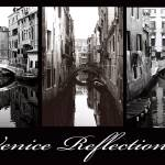 """Venice Reflections - Sepia"" by whatisee4u"