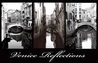 Venice Reflections - Sepia