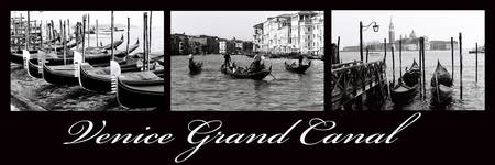 Venice Grand Canal 90x30