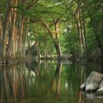 """On the River: Texas Hill Country Reflections II"" by PaulHuchton"