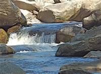 Small Waterfall on the Broad River
