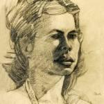 """""""Clare Portrait"""" by DavidBleakley"""