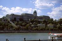 View from Pest to Buda