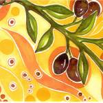 """olives"" by arosawatercolor"