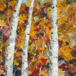 """October Birches_3"" by KSHPaints"