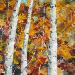 """October Birches_3"" by KSHPaints"
