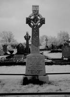 Celtic Cross in Killarney Cemetery, Ireland