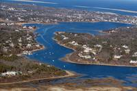 Oyster River Aerial - Chatham, Cape Cod