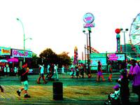 CONEY ISLAND IN NEON