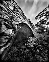 Catoctin Furnace Through a Pinhole