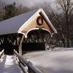 """Flume Covered Bridge - Lincoln, NH"" by ScenicNH"
