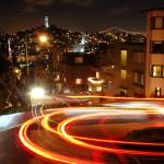 """Lombard Street at Night"" by xof711"