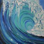 """Big Wave Blue Wave"" by JeanDandy"