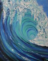 Big Wave Blue Wave