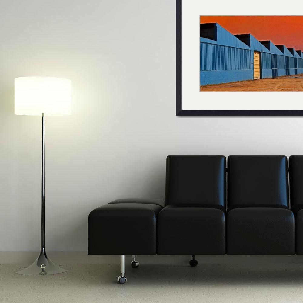 """Factory Buildings&quot  (2013) by KsWorldArt"