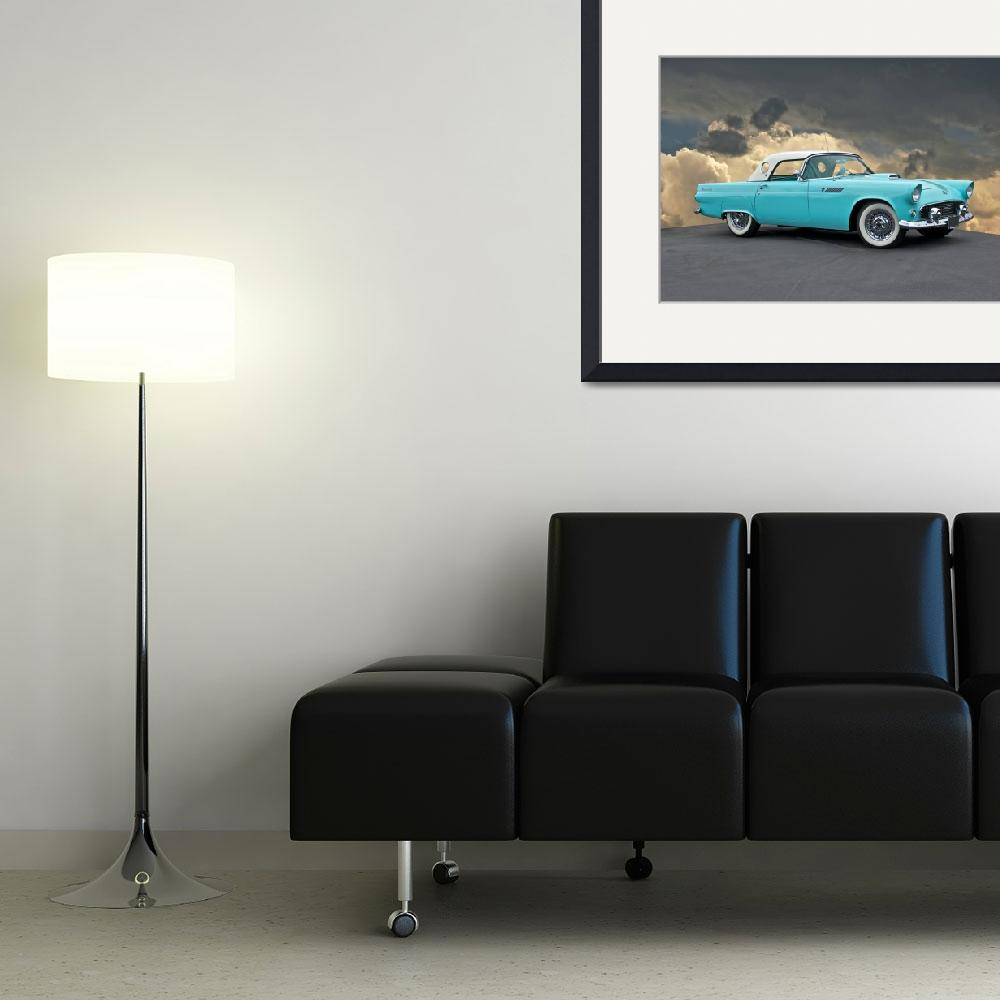 """1955 Ford Thunderbird&quot  by FatKatPhotography"
