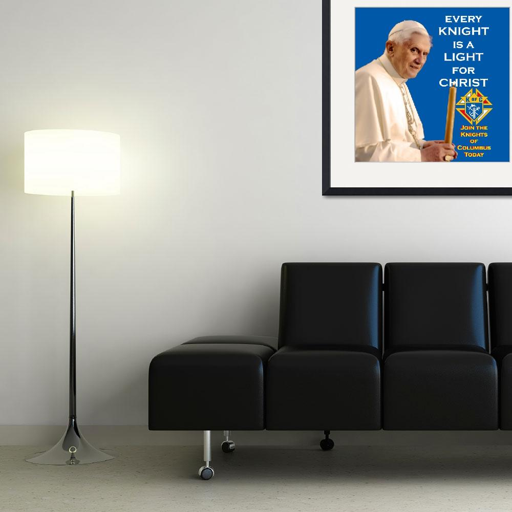 """Every Knight is a Light for Christ&quot  (2008) by kofc"