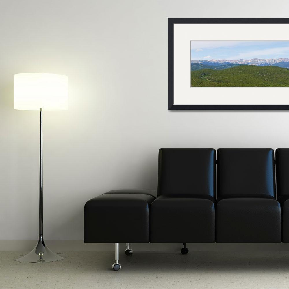 """Colorado Continental Divide Panorama 1&quot  (2013) by lightningman"