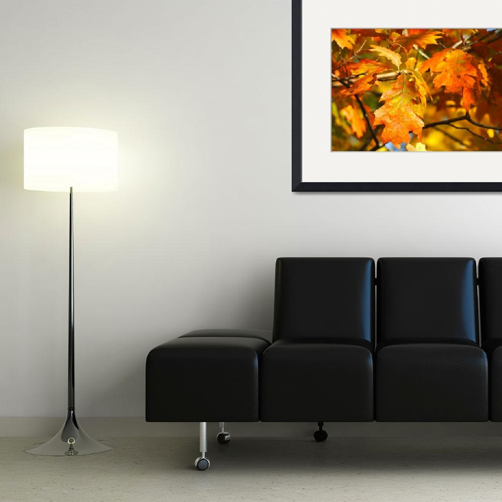 """Autumn Leaves&quot  (2011) by LJdesigns"