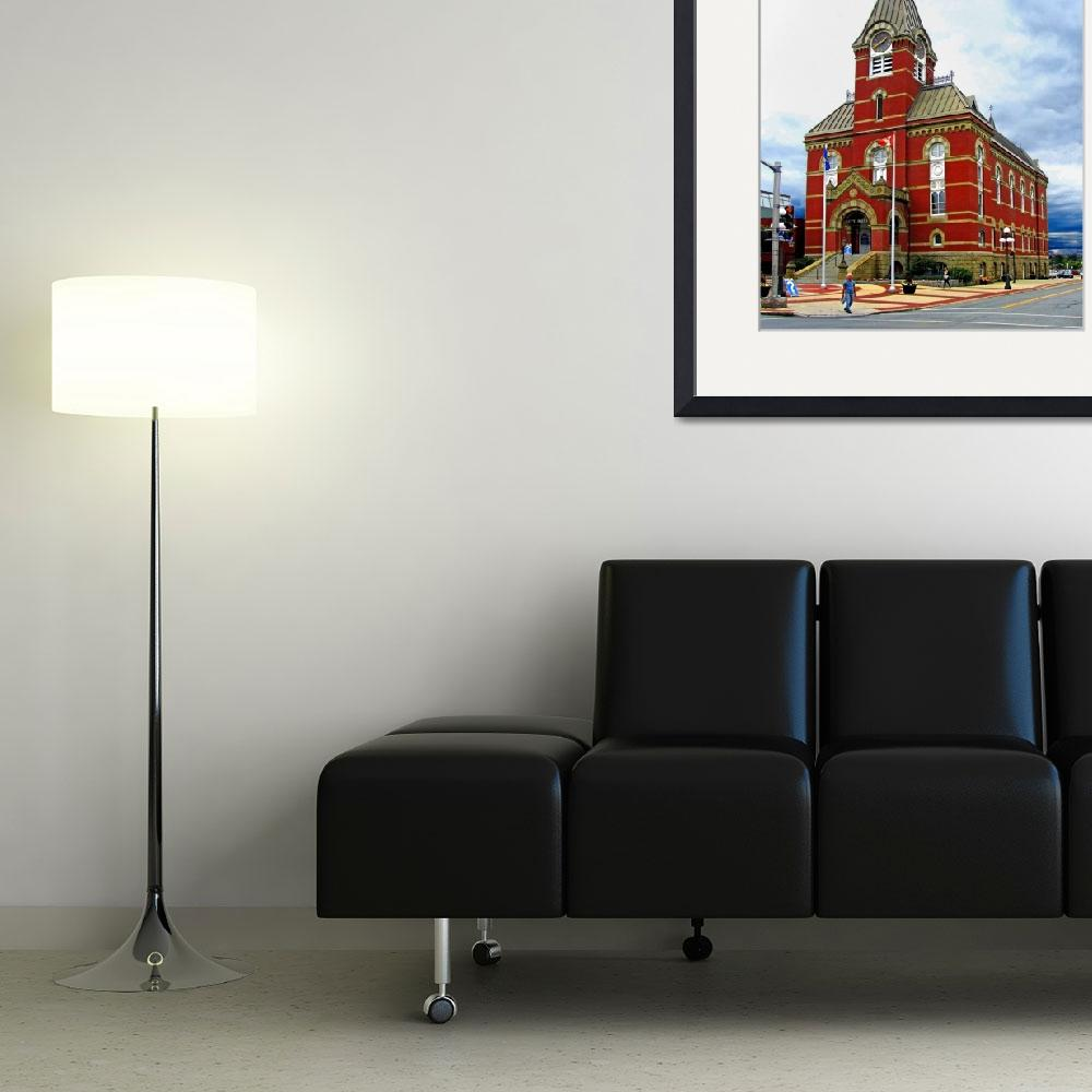 """Fredericton City Hall&quot  (2010) by Markomarko"