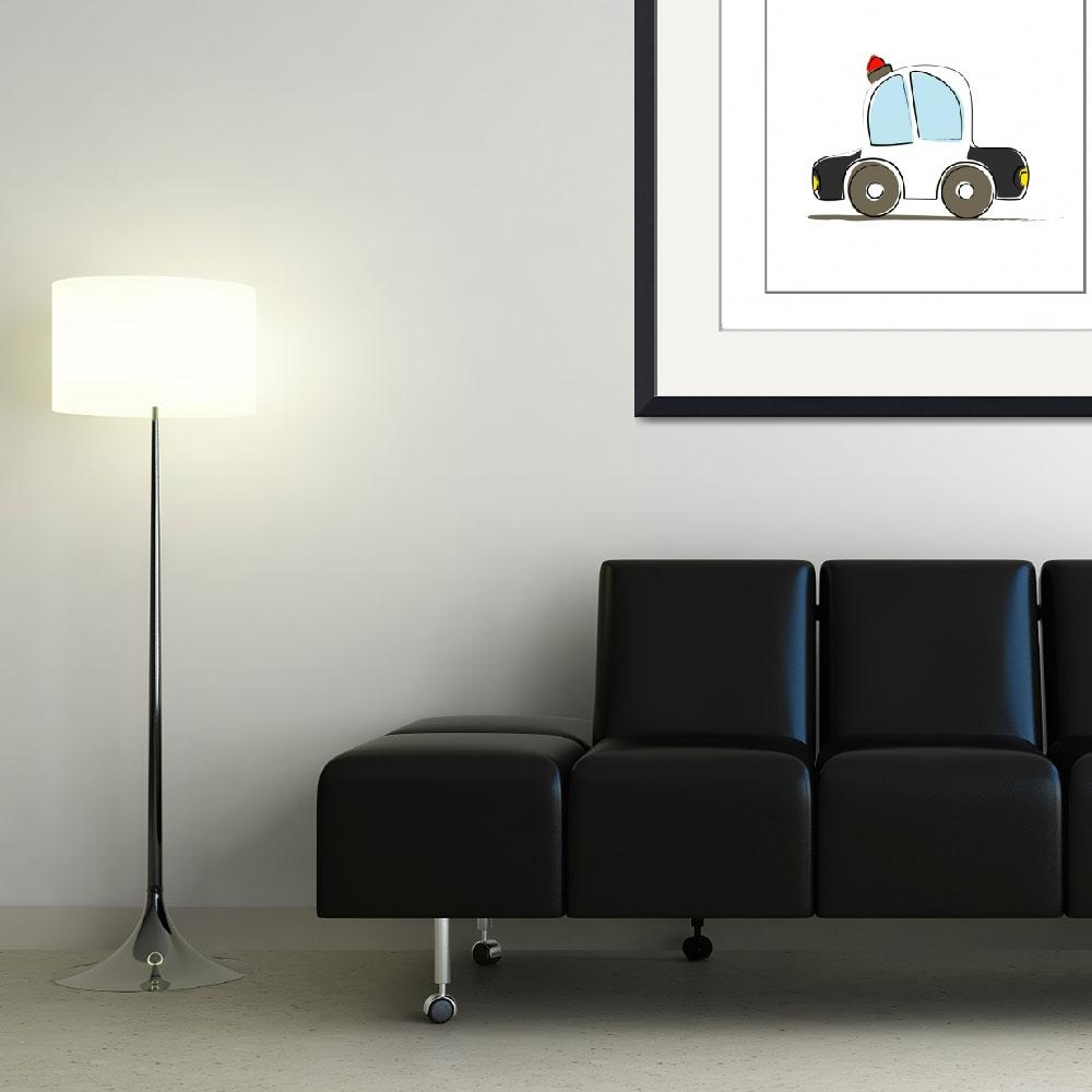 """Police Car&quot  by artlicensing"