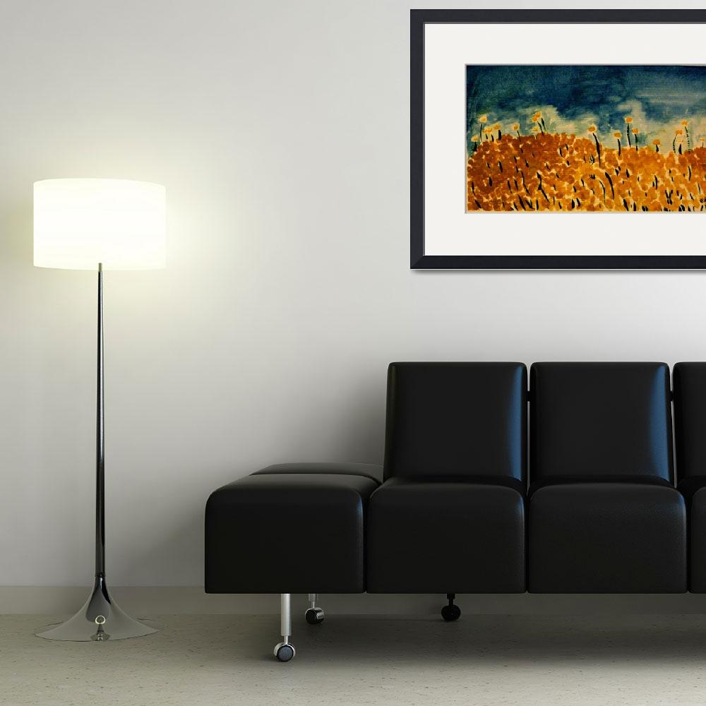 """marigolds&quot  (2008) by ekcurrier"