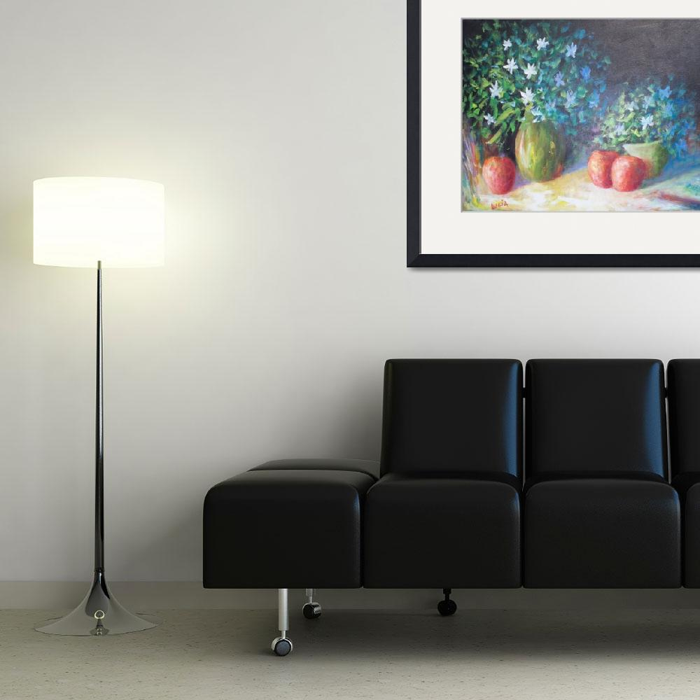 """000_0057Three Apples&quot  (2007) by cjluciaart"
