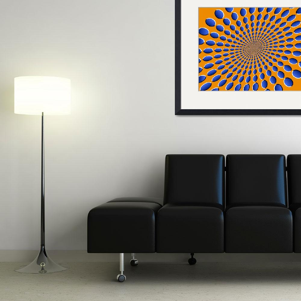 """Optical Illusions Pods&quot  (2010) by ModernArtPrints"