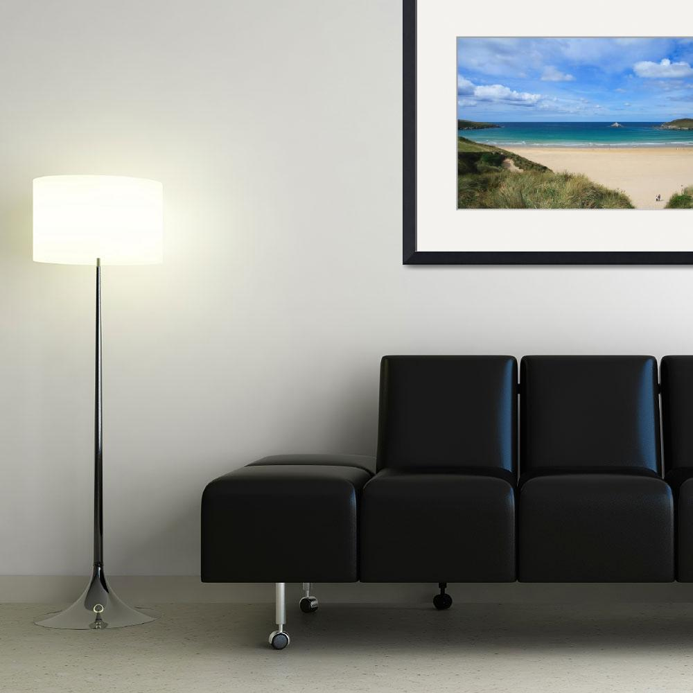"""Crantock Bay&quot  (2010) by cww-photography"
