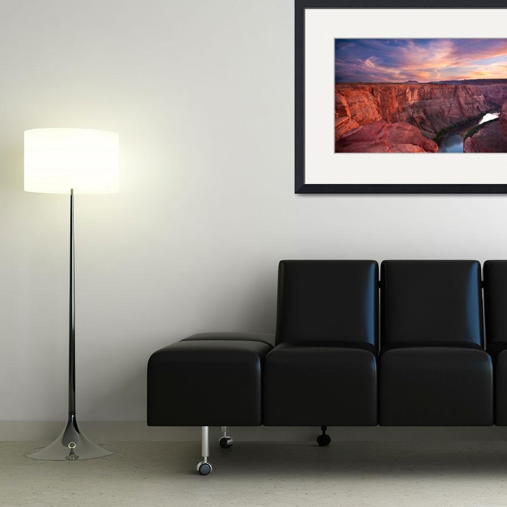 """Colorado River Mesa (Panorama)&quot  (2007) by pbk"