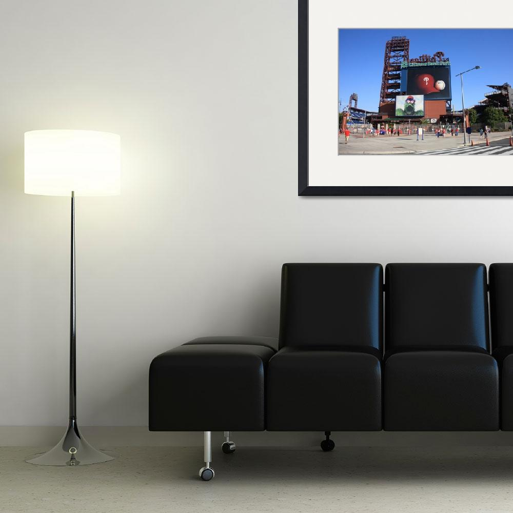 """Citizens Bank Park - Philadelphia Phillies&quot  (2010) by Ffooter"