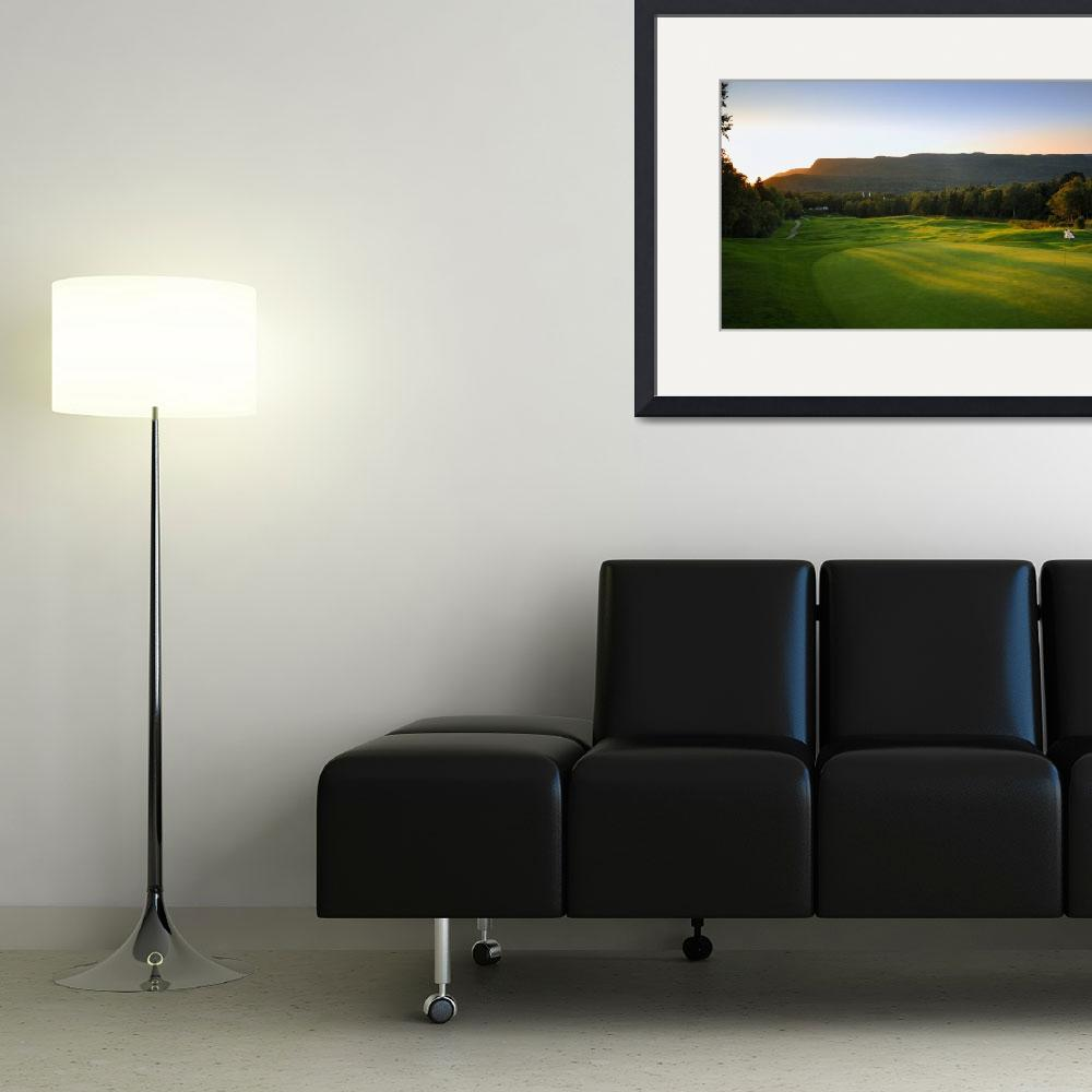"""16th Hole Highland Links Golf Course&quot  (2008) by gallow"