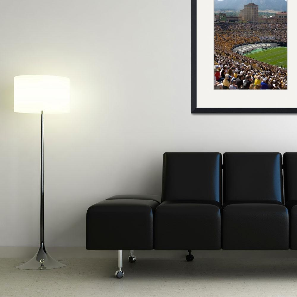 """University of Colorado  Folsom Field&quot  (2009) by lightningman"