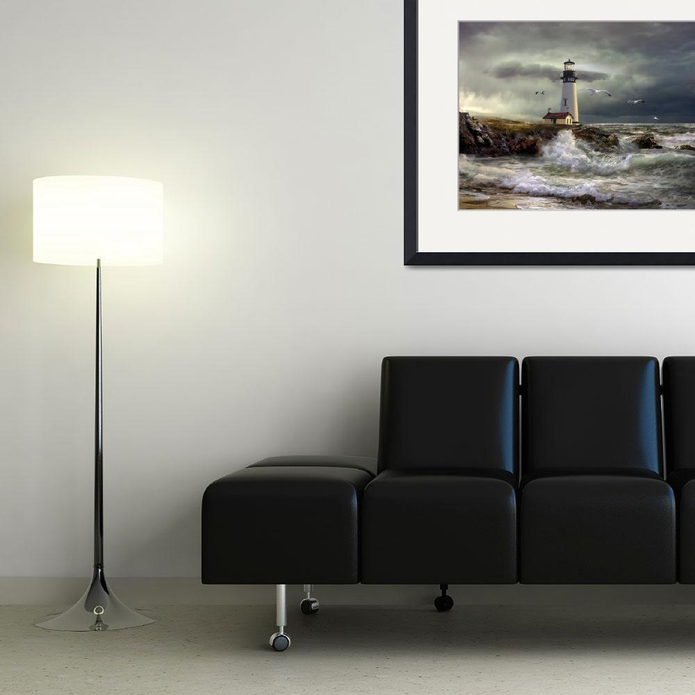 """Lighthouse Guidig Light&quot  (2012) by Unique_designs"