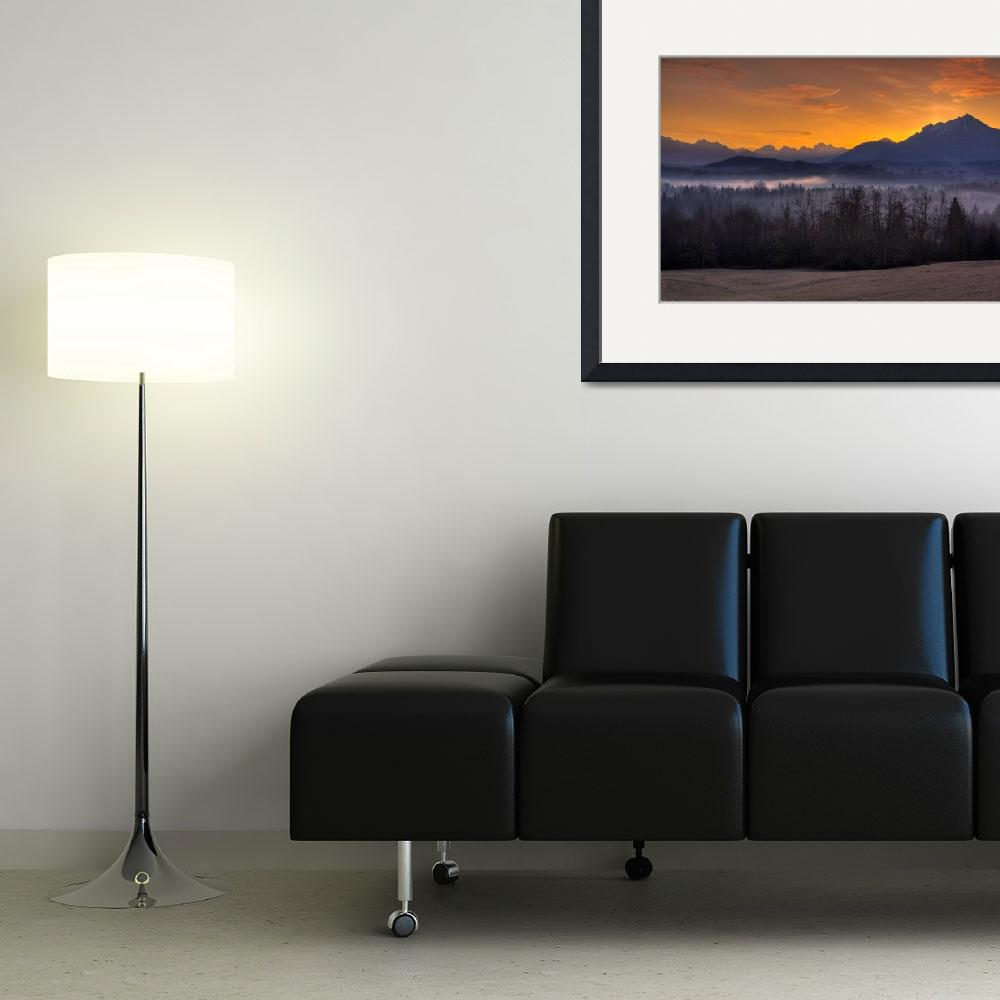 """Mt. Pilchuck Sunrise&quot  (2009) by JimDockery"
